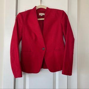 Loft 00P Red Blazer